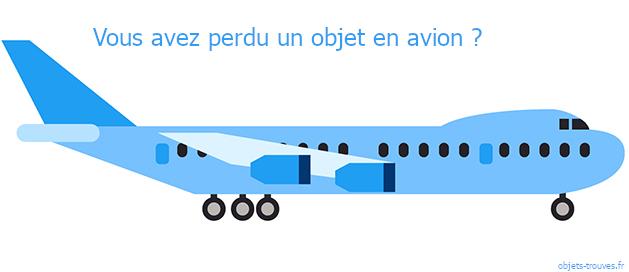 Vous avez égaré un objet dans un avion ?