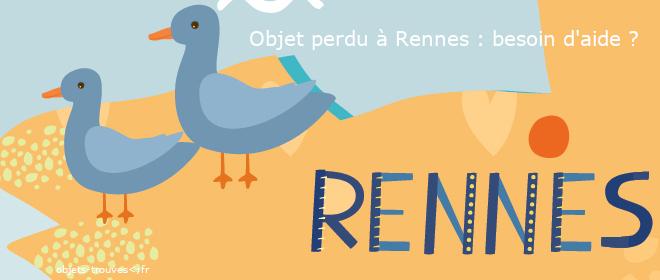 Objet trouvé, perdu à Rennes : quoi faire ?