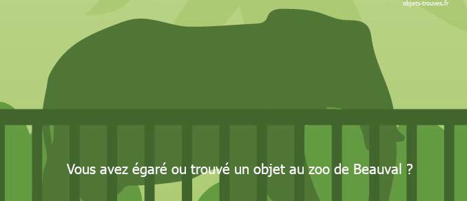 Qui contacter si j'ai égaré un objet au zoo de Beauval ?