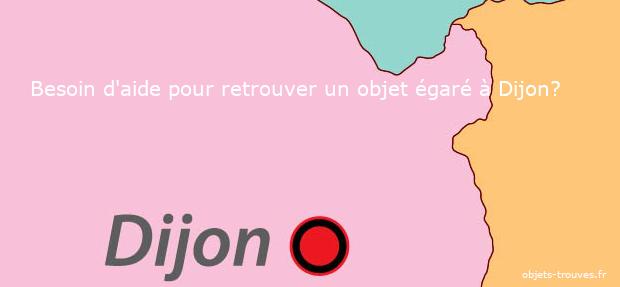 Objet égaré à Dijon : que faire ?