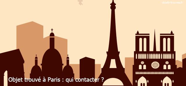 Objet trouvé ou égaré à Paris : que faire?